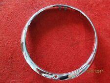 ALFA ROMEO Spider aro de faro derecho ancho acero inox. 10503650410 NUEVO