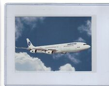 SABENA Airlines issued Airbus A340  cont/l  postcard