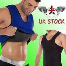 Slimming Neoprene Vest Hot Sweat Shirt Body Shaper for Weight Loss Men Underwear