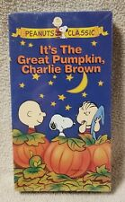 IT'S THE GREAT PUMPKIN, CHARLIE BROWN Vhs Video Tape PEANUTS Classic NEW Sealed