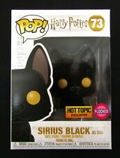SIRIUS BLACK (as Dog) Pop! Vinyl Figure Harry Potter #73 Hot Topic FLOCKED 2018