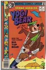 YOGI BEAR (1977 MARVEL) 8 VG+  Jan. 1979