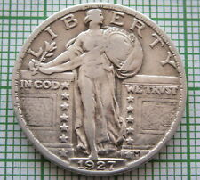 UNITED STATES 1927 QUARTER - 25 CENTS STANDING LIBERTY, SILVER