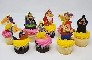 Snow White and the Seven Dwarfs Birthday Cake Toppers Snow White Evil Queen Doc