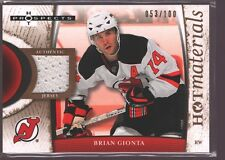 BRIAN GIONTA 2007-08 FLEER HOT PROSPECTS GAME USED JERSEY PATCH /100 $20