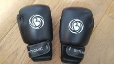 Used Black and White Kids Boxing Gloves