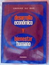 DESARROLLO ECONÓMICO Y BIENESTAR HUMANO - GUMERSINDO RUIZ BRAVO - ED. PIRÁMIDE