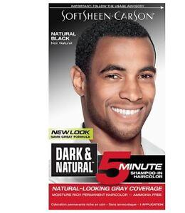 Soft Sheen Carson - Dark & Natural (Natural Black)