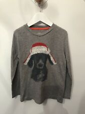 Mini Boden Boys Christmas T Shirt Age 7-8 (immaculate)