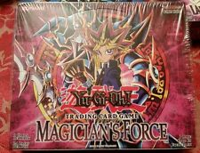 Yugioh Magican's Force 24 PACK BOX GEM MINT FACRORY SEALED HARD TO FIND!!!