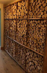 Lovely Display Logs, Decorative , Firewood Logs, 55cm x 35cm Area