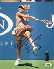 Caroline Wozniacki Denmark Tennis Signed Auto 8x10 PHOTO PSA/DNA