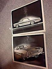 1963 Aurora Thunderjet Buick Riviera Original Blueprint Prototype Photos Hms