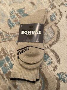 NWT Bombas Merino Wool Mens Calf Socks Sz L