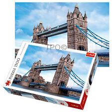 Trefl 1500 Pièce Adulte Tower Bridge Rivière Thames Londres Grand Puzzle neuf