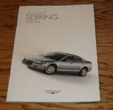 Original 2006 Chrysler Sebring Sedan Sales Brochure 06
