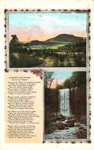 Vintage Postcard 1920's Lookout Mountain By Lon A. Wamer Hudson River TN