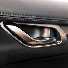 4* Matte interior Car  Door Inner Door Handle Bowl for Mazda CX-5 CX5 2017 2018