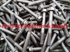 (10) 3/8-16x3-1/2 Grade 8 Hex Head Flange Frame bolt / Cap Screws 3/8 x 3-1/2