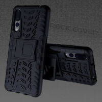 Huawei  P30 PRO Rugged Case High Density Dual Layer Cover Black