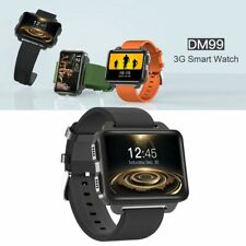 """2.2"""" DM99 3G WiFi Heart Rate Monitor Smart Watch 2GB 16GB GPS Android Smartphone"""