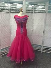 STUNNING PINK AND PURPLE BALLROOM DRESS HIGHLY DECORATED WITH STONES (64)