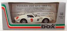 Véhicules miniatures blanc moulé sous pression pour Ferrari