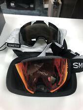 Smith Optics 4DMag Goggles Black/ ChromaPop Photochromatic Red Mirror w/ Sun Blk