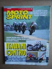 MOTOSPRINT n°24  1992     [Q21]  TEST HONDA RAIDEN 125 DUCATI 350 SS JUNIOR