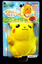 TOMY Pikachu Plush Soft Toy  turns into a Powerball !  New from 1999 Pokemon