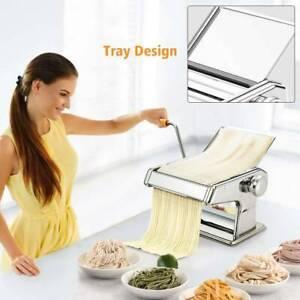 Pasta Maker Kitchen Spaghetti Roller Lasagne Tagliatelle Cutter Manual Machine