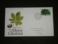 1974 GB Stamps HORSE CHESTNUT First Day Cover HOUSE OF COMMONS Cancel FDC