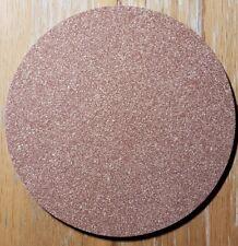 """Brown Rubberized Cork Composite Disc 1/8"""" x 4 1/2"""" no hole (12)pcs"""