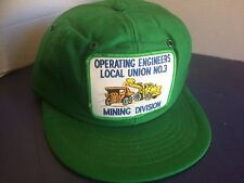 Operating Engineers Local Union No. 3 Mining Division Adjustable Hat
