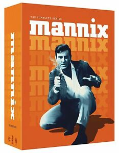MANNIX The Complete Series 1-8 DVD (1967-1975) 48 Discs New & Sealed