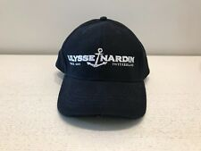 Gorra ULYSSE NARDIN Cap Hat - New - Blue Navy Azul - Clothing - Relojes Watches