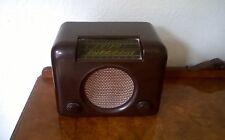 RARE 1940s Bakelite Bush Radio DAC-90 Valve Radio Receiver - Original Vintage
