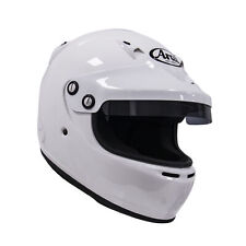 Arai GP-5W/peak w/ HANS anchors White S SA2005 Car Racing Helmet Go Kart