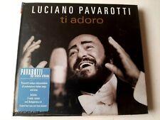Luciano Pavarotti Ti Adoro CD 2007 Digipak Brand New Sealed