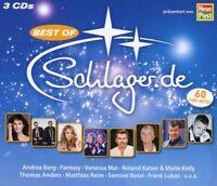 BEST OF SCHLAGER.DE (THOMAS ANDERS, VANESSA MAI, LAURA WILDE,...)  3 CD NEU