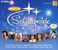 BEST OF SCHLAGER.DE (THOMAS ANDERS, VANESSA MAI, LAURA WILDE,...)  3 CD NEW+