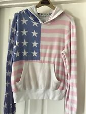 "Wildfox ""Barbie Dream house Miss America"" Malibu Hoodie Pullover"