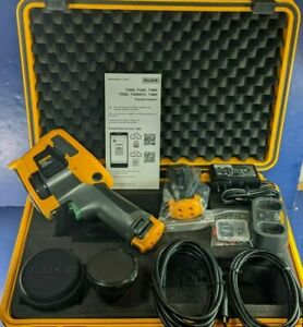 Fluke Ti450 IR Infrared Thermal Imaging Imager Camera with Extra Telephoto Lens