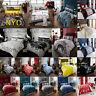 Duvet Cover & Pillowcases Quilt Cover Bedding Set Single Double & King