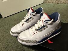 Air Jordan 3 Retro OG True Blue - Size 9.5