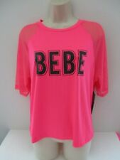 NWT Women's Bebe Sport Tee Shirt Top- Size XL