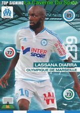 349 LASSANA DIARRA FRANCE MARSEILLE OM CARD UPDATE ADRENALYN 2016 PANINI