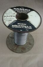 NASSAU ROLL OF ROSIN SOLDER