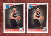 Lot of (2) 2018-19 Donruss Optic GARY TRENT Jr Rated Rookie #199 RC Blazers🔥