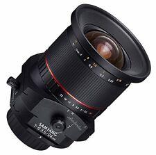 Tilt-Shift Objektiv Samyang 24mm F/3,5 T/S für Sony E-Mount ILCE-7 S R II III
